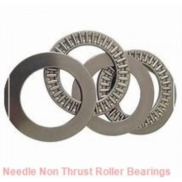 0.709 Inch | 18 Millimeter x 0.984 Inch | 25 Millimeter x 0.551 Inch | 14 Millimeter  CONSOLIDATED BEARING K-18 X 25 X 14  Needle Non Thrust Roller Bearings