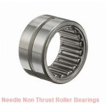 1.693 Inch | 43 Millimeter x 1.89 Inch | 48 Millimeter x 0.669 Inch | 17 Millimeter  CONSOLIDATED BEARING K-43 X 48 X 17  Needle Non Thrust Roller Bearings